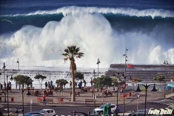 L'arrivo di Hercules: mareggiata perfetta in Atlantico!