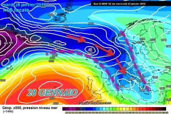 """La """"lotta"""" tra Gelo Scandinavo e Caldo Atlantico continua. In arrivo Inverno e neve."""