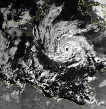 """Uragani"" nel Mediterraneo? I Medicanes."