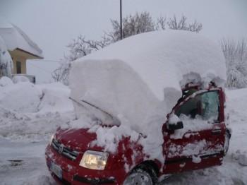 """Il teatrino sulle nevicate che """"probabilmente"""" imbiancheranno l'Italia nei prossimi giorni."""