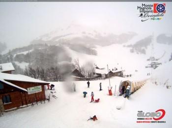 Neve Appennino: quota in calo, colline imbiancate entro mercoledì 29