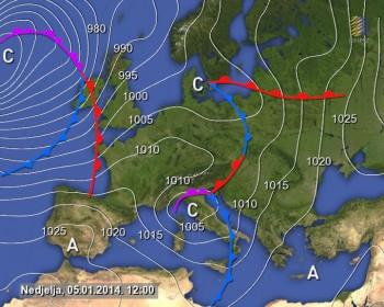 Nuova tempesta verso il Regno Unito: mareggiate eccezionali su Europa occidentale
