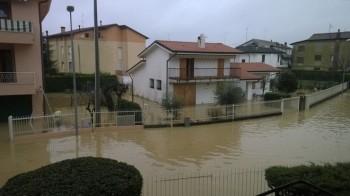 Emergenza fiumi nel Padovano. Le immagini