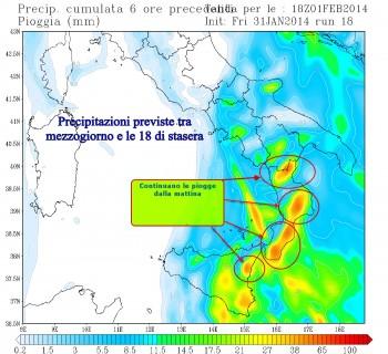 Focus peggioramento Sud Italia: tutte le zone a rischio.