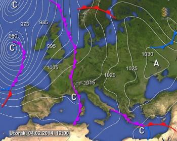 Meteo prossimi giorni: altro maltempo al Centro-Nord