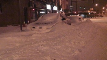 Non si vede la fine dell'inverno Statunitense. Nuove bufere di neve negli stati Orientali.