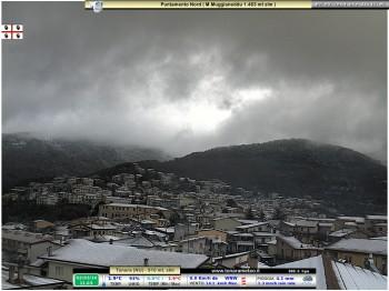 Dentro alla Primavera compare l'Inverno: la neve arriva fino in Sardegna.