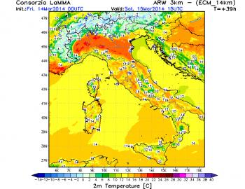Temperature in aumento: week-end di primavera inoltrata al Centro-Nord!