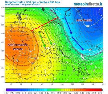 Continua la lotta tra Artico e Azzorre. Neve Marzolina o primavera in cattedra?