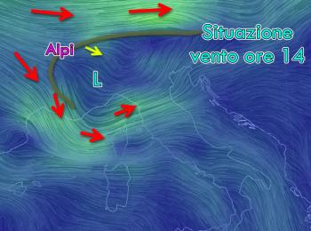 Foehn al Nord, 29 gradi al Centro, ma Mercoledì arriva un nuovo peggioramento.