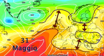 Aumento termico nel lungo termine, l'Estate si affaccia sul Mediterraneo?