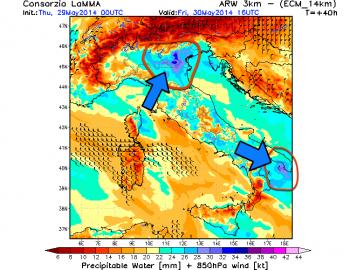 Instabilità padrona dell'Italia: tutti i dettagli sulle regioni a rischio temporali.