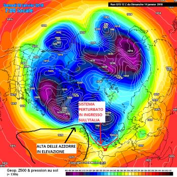Medio-Lungo Termine : più freddo con qualche nevicata a bassa quota ad inizio terza decade?