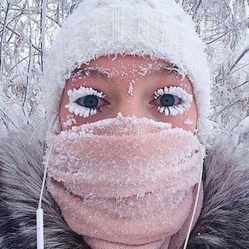 Gelo in Siberia, termometri giù fino a -62°C [IMMAGINI]
