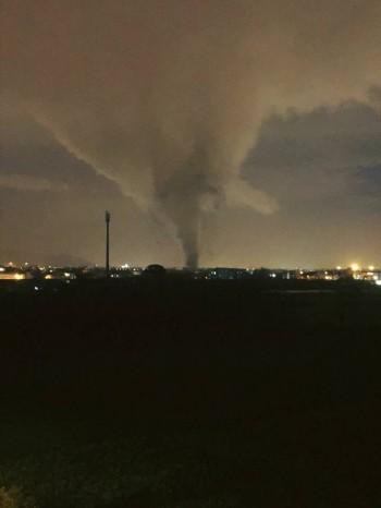 Tornado nel Casertano, otto feriti ed ingenti danni [IMMAGINI]