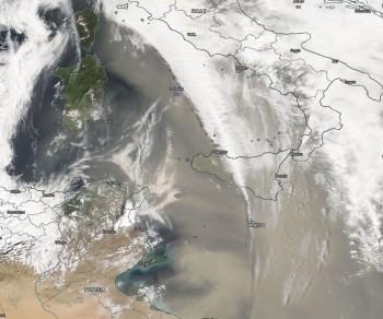 Polvere Sahariana verso l'Italia, migliaia di tonnellate di depositi nelle prossime ore