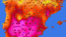 Prime massime over 35°C in Spagna, prossimi ai 40°C?