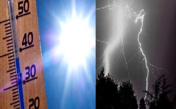 """Verso il """"picco"""" dell'ondata di caldo, ma da giovedì temporali in aumento!"""