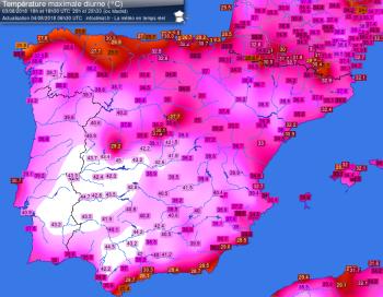 Portogallo pronta a battere il record di temperatura massima in Europa