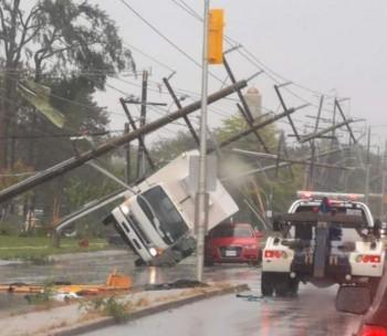 Tornado su Ottawa : danni, devastazione e almeno 30 feriti!