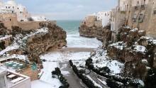 Maltempo in Puglia. Segnali di un'inverno che si risveglia