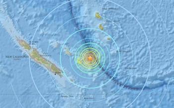 Violento terremoto in Nuova Caledonia, numerose scosse