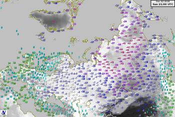 L'inverno ingrana la marcia in Russia, minime prossime ai -50 gradi