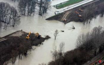 Intenso maltempo con violenti rovesci e grandinate, esondati fiumi in Emilia-Romagna!