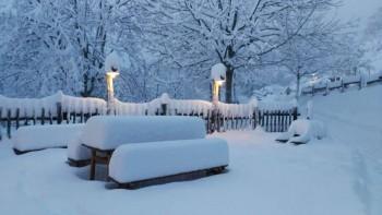 Abbondanti nevicate quasi in pianura su Svizzera e Germania, a bassa quota anche sul nord Italia!