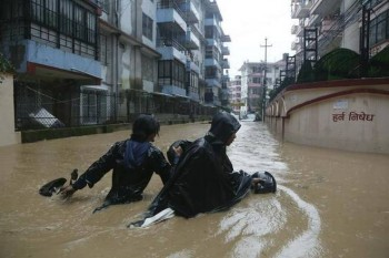 Nepal, 43 vittime a causa delle forti inondazioni