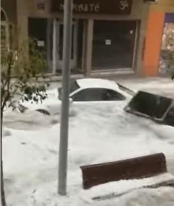 Cronaca meteo: pesante maltempo sulla Spagna con grandinate, nubifragi e tornado!