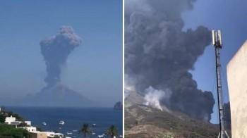 Eruzione a Stromboli, violenta come il 4 luglio