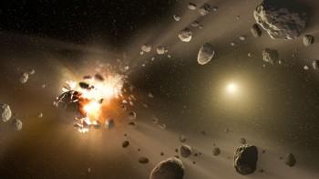"""Una gigantesca nuvola di polvere ha causato un """"boom"""" della vita sulla Terra"""