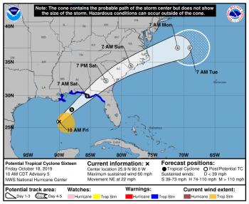 Stati Uniti: tempesta tropicale sta per raggiungere la Florida