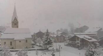 Cronaca meteo: forti nevicate sulle Alpi, localmente anche al di sotto dei 1000 mt!