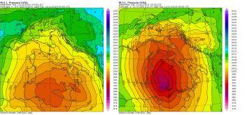 Nuovo ciclone sul Mediterraneo: si intensificherà in modo esplosivo