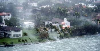 Gli uragani negli USA sono aumentati del 330%