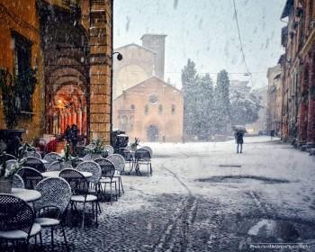Cronaca meteo: neve in pianura, venti di tempesta e forti rovesci nel giorno di Santa Lucia