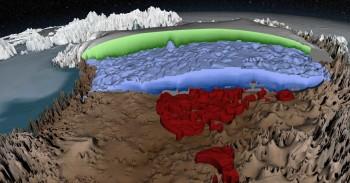 Un enorme fiume potrebbe scorrere sotto il ghiaccio della Groenlandia