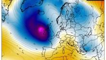 Nuovo ciclone esplosivo in Atlantico: raggiungerà l'Irlanda e il Regno Unito