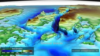 Antartide, il ghiacciaio Denman potrebbe collassare nel canyon più profondo al mondo