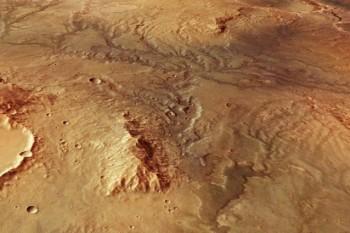 Le maestose valli di Marte potrebbero non essere state create da fiumi