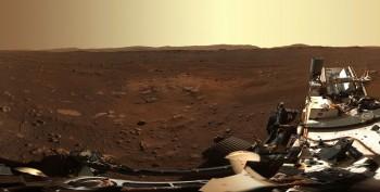 Le incredibili immagini di Marte scattate da Perseverance