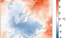 Aprile 2021: temperature inferiori alla media su gran parte dell'Europa