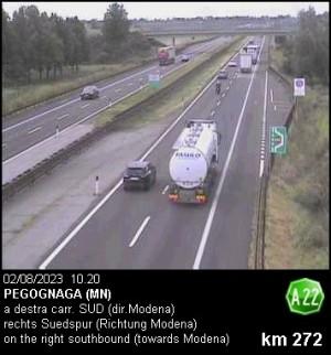 Autostrada A22 - Pegognaga (MN)