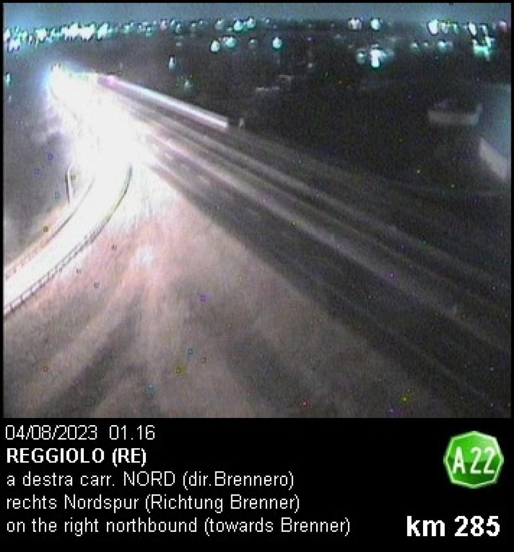 Autostrada A22 - Reggiolo (RE)