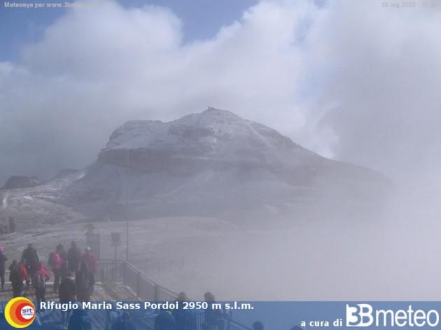 Webcam Canazei Tn Rifugio Maria Il Sass Pordoi Detto