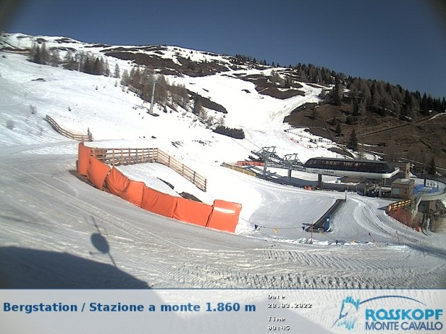 Webcam Vipiteno (BZ) - Stazione sciistica monte cavallo | Meteo in ...