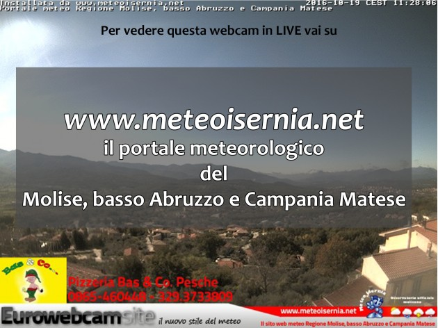 Webcam a Pesche (IS)