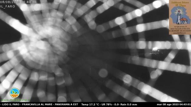Webcam francavilla al mare ch visuale verso nord dello for Mobilia arredamenti francavilla al mare